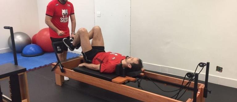Fabio Correia, preparador físico da equipe masculina do SESI/SP, comenta sobre a profissão no Brasil