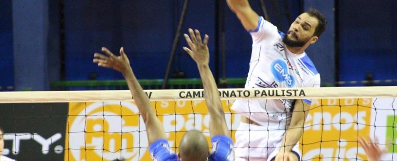 Superliga Masculina: Taubaté disputa semifinal contra SADA Cruzeiro. Foto: Vôlei Taubaté