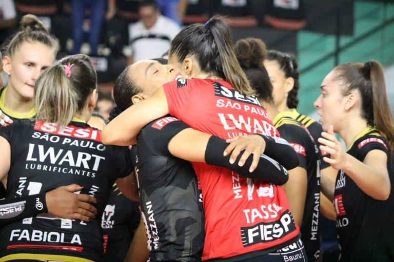 Superliga feminina: última rodada do returno define confrontos das quartas-de-final. Foto: Ssi Vôlei Bauru