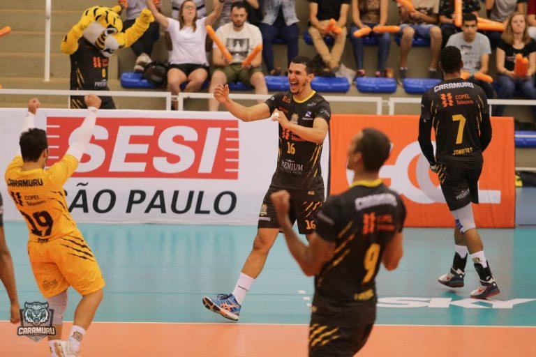 Superliga masculina: Atletas ProSports disputam penúltima rodada do returno fora de casa. Foto: Caramuru Vôlei