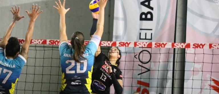 Superliga: SESI Vôlei Bauru tem jogo decisivo com atletas ProSports em quadra. Foto: Sesi Vôlei Bauru