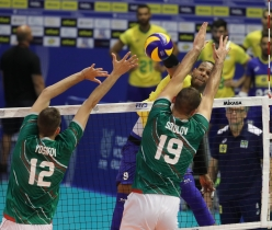 Com último ponto de Leal, Brasil garante vaga para Tóquio 2020. Foto: FIVB